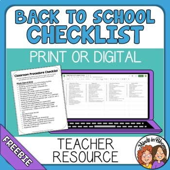 Classroom routines and procedures pdf