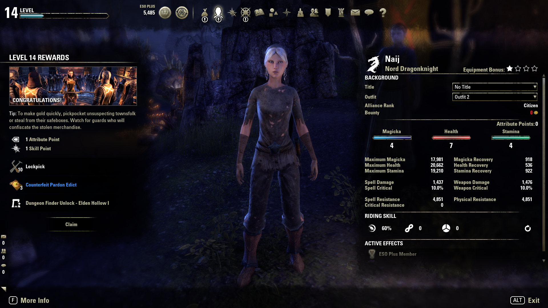 Eso level up advisor how to get sorrel horse