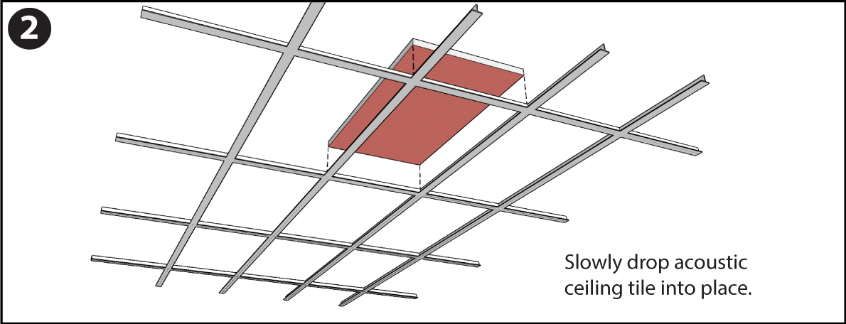 drop ceiling installation instructions