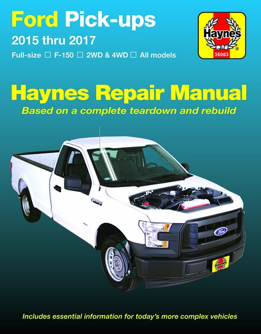 2015 ford f150 service manual