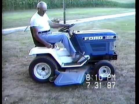 ford ls45 lawn tractor manual