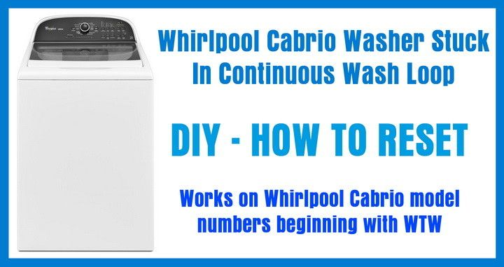 whirlpool cabrio wtw6800ww1 washer service manual