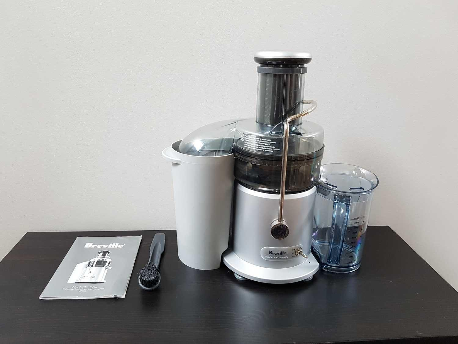 breville juice fountain plus instruction manual
