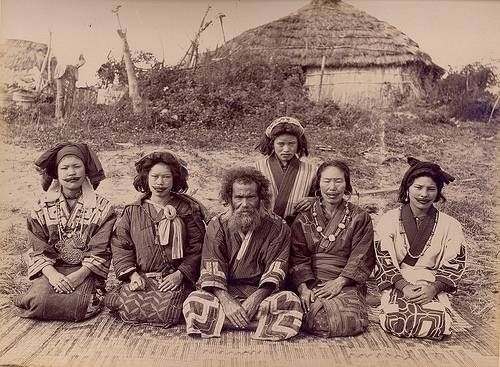 Ainu of japan original document