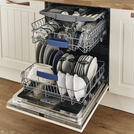 Bosch integrated dishwasher door fitting instructions