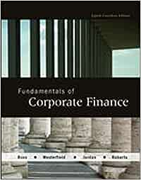 Corporate finance 7th canadian edition pdf