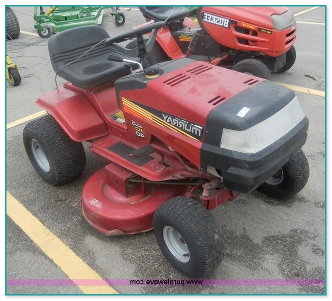 murray ride on mower parts manual