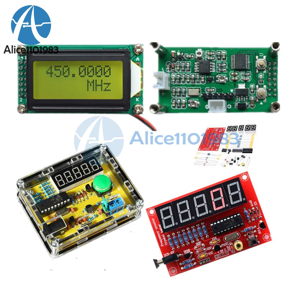 Frequency counter kit instructions