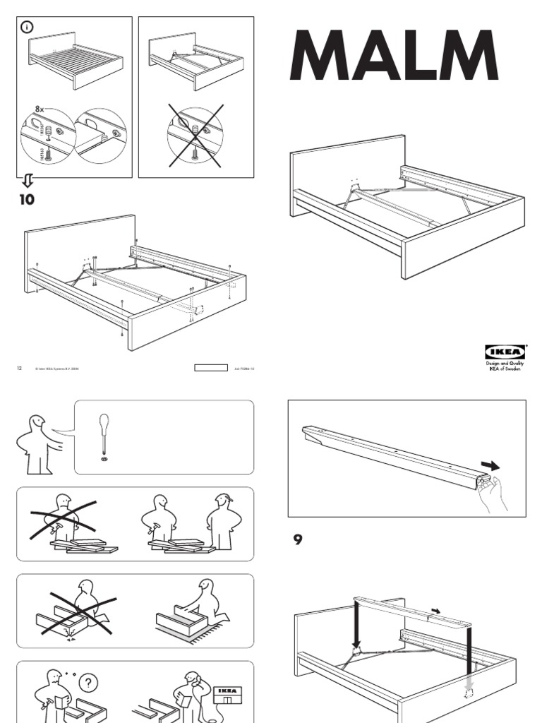Ikea twin bed frame instructions