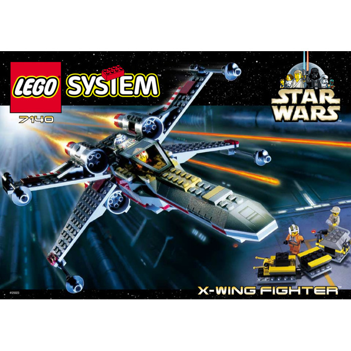 Lego x wing instructions 7140