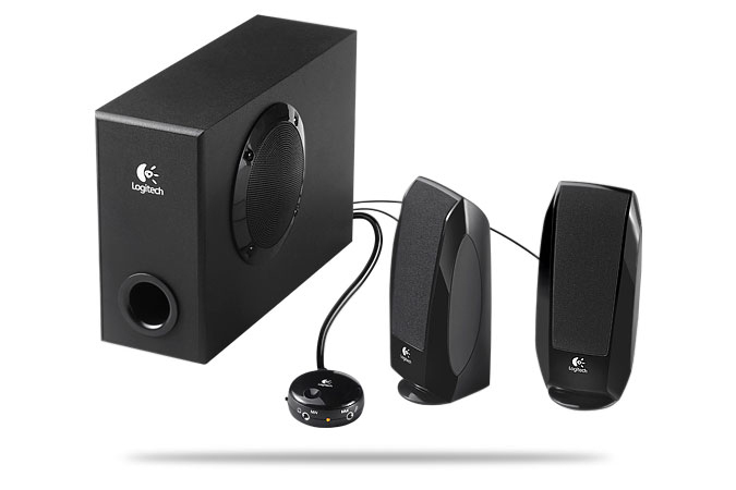 logitech s220 2.1 speaker system with subwoofer manual