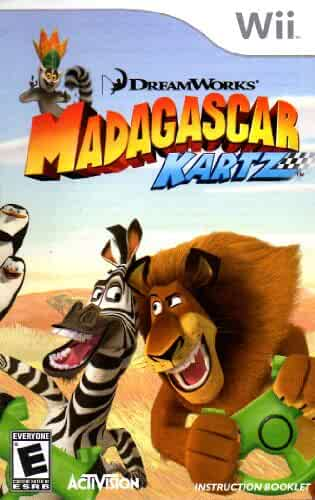 madagascar kartz wii instructions