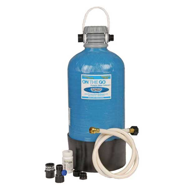 On the go portable water softener manual