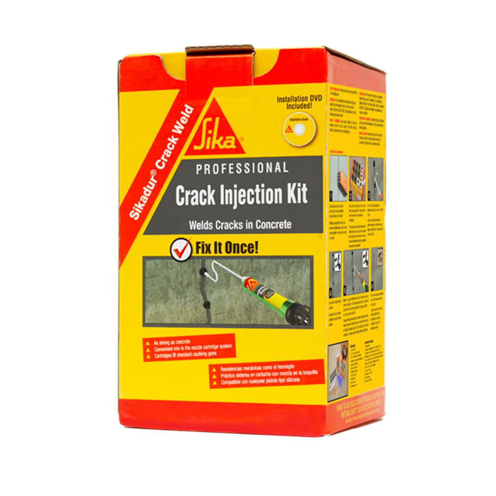 sika crack fix instructions